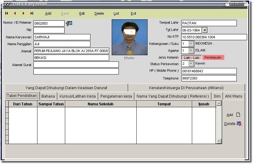 Payroll Software Indonesia,Absensi,PPh 21,Aplikasi ...