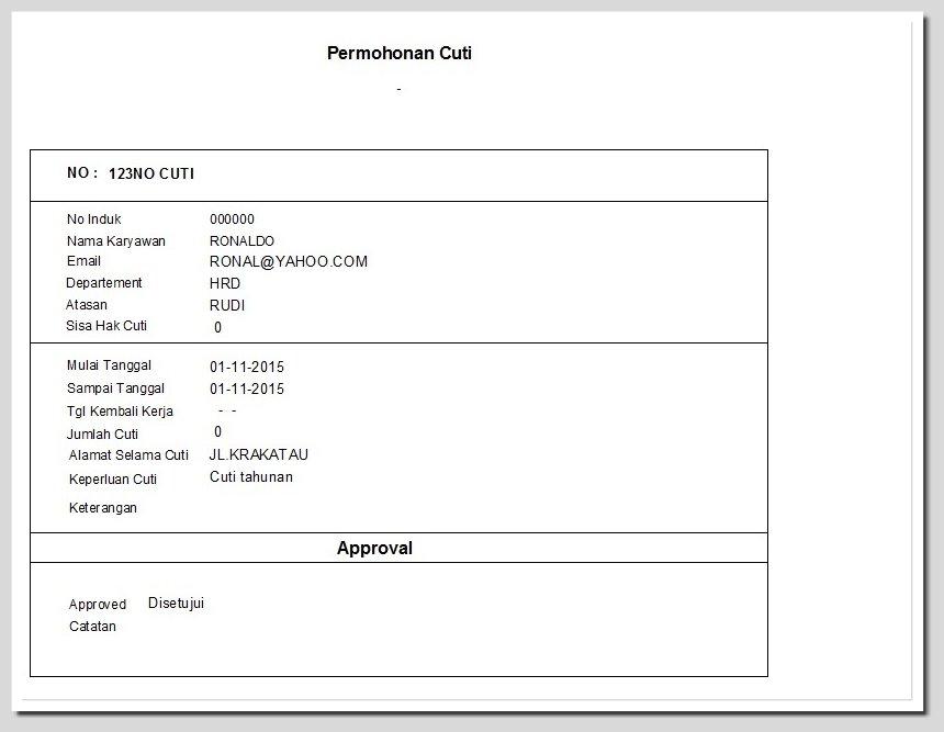 Slip Gaji Onlinelaporan Payrollonlinepayroll Web Based
